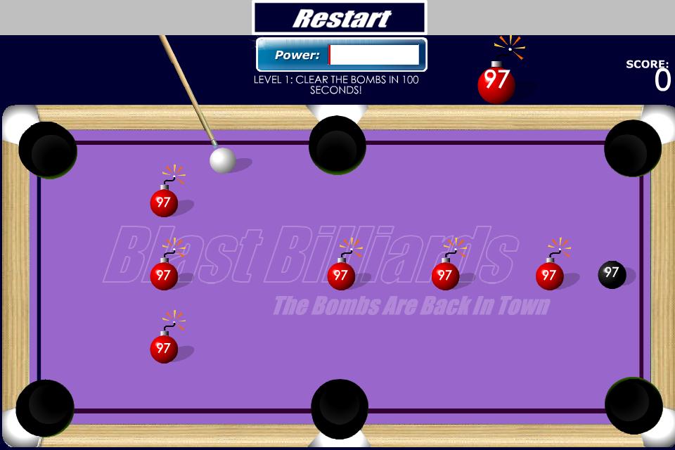 Screenshot B Billiards