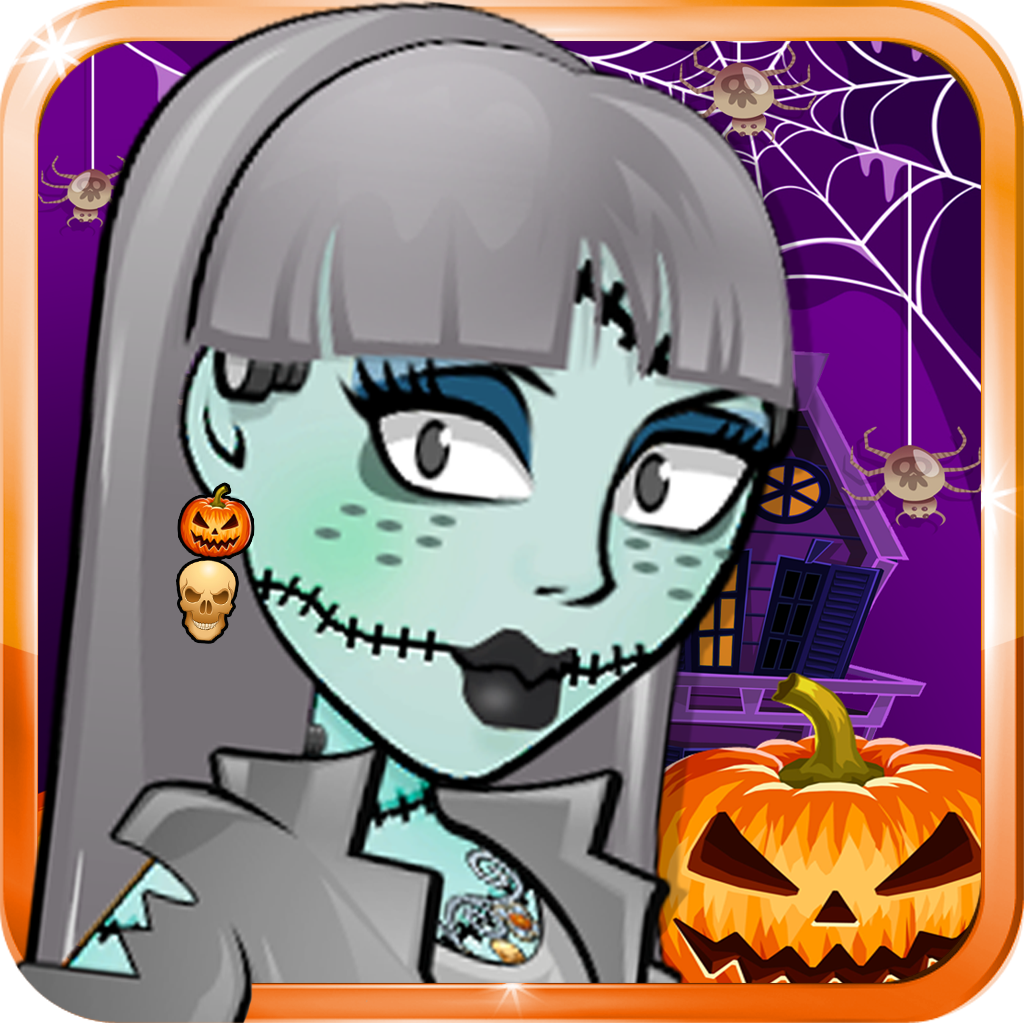 halloween monster mash dress up game for girls and boy's - free